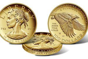 JAV pristatyta proginė moneta, kurioje pavaizduota juodaodė Laisvė