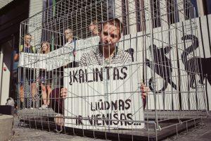 Vilniuje zoologijos sodo atidarymą pasitiko piketas