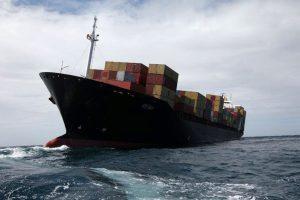 Į Šiaurės jūrą įkrito apie 270 konteinerių