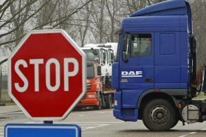 ES sunkvežimių gamintojams skyrė rekordinę 2,93 mlrd. eurų baudą