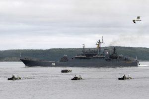 Nyderlandams – kaltinimai pasiuntus povandeninį laivą arti Rusijos karo laivų