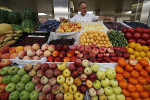 Maistas Rusijoje ir ES pirmąjį metų ketvirtį brango bemaž vienodai