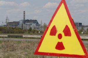 Černobylio jėgainės zonoje – nedidelė radioaktyvaus jodo koncentracija