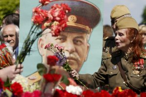 Rusijoje populiariausi lyderiai – V. Putinas, L. Brežnevas ir J. Stalinas