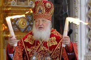 Britanijos karalienė priėmė Rusijos patriarchą Kirilą