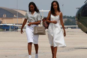 B. Obamos dukros iš G. W. Busho atžalų sulaukė pagyrų ir patarimų
