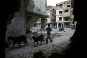 Kremlius tikisi politinės išminties sprendžiant Sirijos konfliktą
