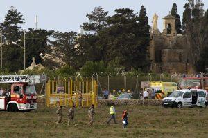 Maltoje sudužęs lėktuvas skrido į Libiją su sekimo misija (atnaujinta)
