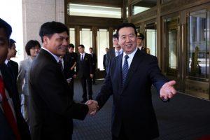 Interpolo vadovu pirmąkart išrinktas Kinijos pareigūnas