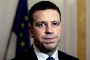Naujasis Estijos premjeras aktyviai mokosi anglų ir rusų kalbų