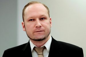 Norvegijos teismas nagrinėja vyriausybės skundą dėl A. B. Breiviko