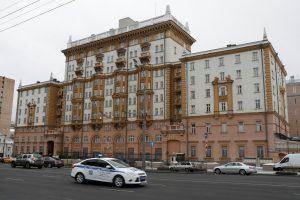 Netikėtas V. Putino pareiškimas: Rusija neišvarys JAV diplomatų (papildyta)