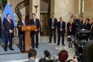 Derybose dėl padalyto Kipro suvienijimo – pertrauka