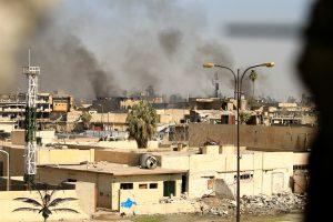 Irako pajėgos atkovojo džihadistų nusiaubtą Mosulo muziejų