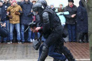 Grupė europarlamentarų ragina ES peržiūrėti politiką Baltarusijos atžvilgiu