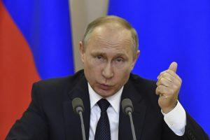 V. Putinas pasiruošęs pateikti S. Lavrovo ir D. Trumpo pokalbio įrašą