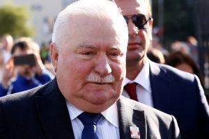 Lenkijos pareigūnai tiria, ar L. Walesa nedavė melagingų parodymų