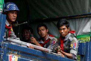 Per neramumus Mianmare žuvo apie 400 žmonių