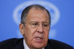 S. Lavrovas: JAV nepripažįsta daugiapolio pasaulio tikrovės
