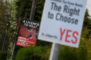 Airijoje prasideda kampanija, skirta abortų įteisinimui