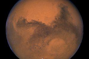 Marse pirmąkart rasta skysto vandens
