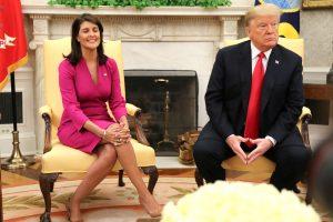 Atsistatydina JAV ambasadorė prie JT
