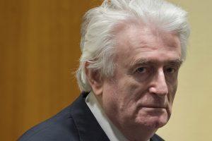 Buvusiam Bosnijos serbų lyderiui – kalėjimo iki gyvos galvos bausmė