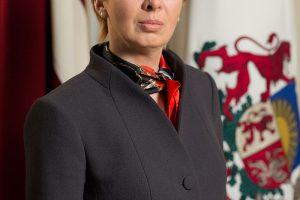 Latvijos Seimo vadovė: didžiausias šalies proveržis – dar priešakyje