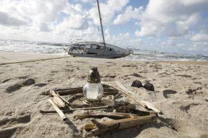 Jūroje rastas nuskendęs buriuotojas?