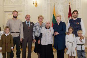 Prezidentė apdovanojo 39 žydų gelbėtojus