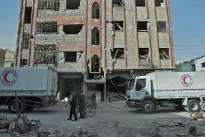 Rusija leido Sirijos sukilėliams pasitraukti iš Rytų Gutos