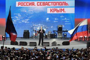 JAV sankcijos Rusijai galios iki Krymo sugrąžinimo Ukrainai