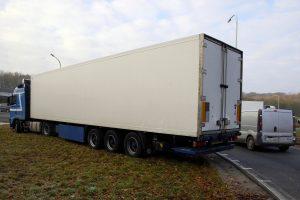 Protestuojantys Belgijos vairuotojai blokavo greitkelį
