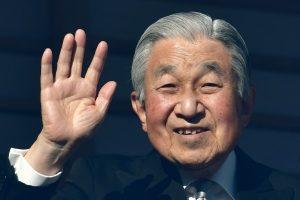 Japonijos imperatorius pasakė savo paskutinę naujametinę kalbą