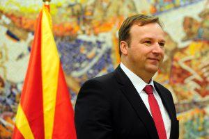 Makedonijos parlamentas prieš rinkimus nubalsavo už savo paleidimą