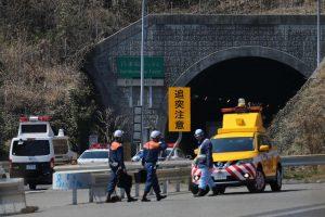 Automobilių avarija ir gaisras Japonijoje: žuvo bent du žmonės