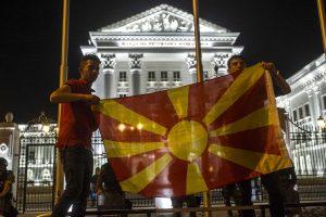 Makedonijoje nepavykus suformuoti vyriausybės tęsiasi krizė