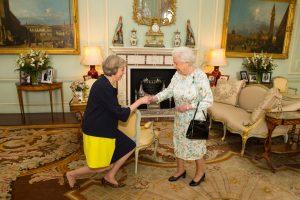 Th. May tapo naująja Britanijos premjere