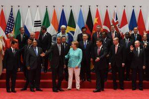 G-20 viršūnių susitikimo kuluaruose – B. Obamos ir V. Putino derybos