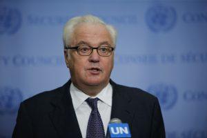 Rusija piktai užsipuolė JT humanitarinės pagalbos vadovą