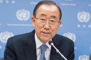 Šiaurės Korėja šaiposi iš JT vadovo prezidentinių ambicijų