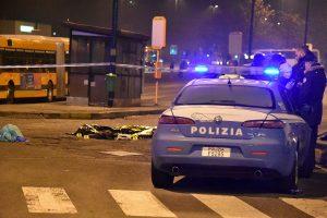 Berlyno atakos vykdytojas nušautas Milane
