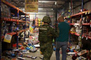 Meksikos turguje ginkluoti asmenys nušovė šešis žmones