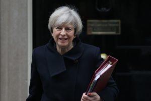 """Britanijos vyriausybė pristatė """"Brexit"""" strategiją"""