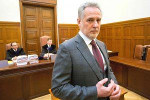 Austrijos teismas nurodė paleisti Ukrainos oligarchą