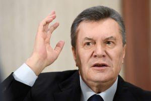 V. Janukovyčius ragina D. Trumpą užbaigti karą Ukrainoje