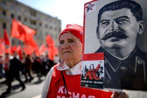 Iškiliausia istorine asmenybe rusai laiko J. Staliną