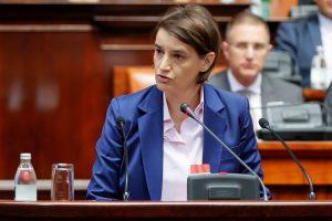 Serbijos vyriausybei pirmą kartą vadovaus homoseksuali moteris