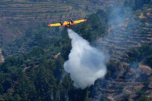 Portugalijoje įsiplieskė nauji miškų gaisrai