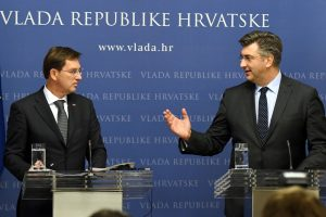 Kroatijai ir Slovėnijai toliau nepavyksta susitarti dėl sienos